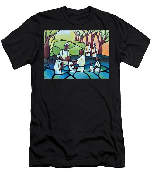 The Baptism Men's T-Shirt (Athletic Fit)