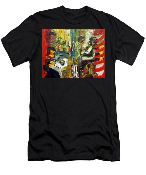The Barbers Shop - 1 Men's T-Shirt (Athletic Fit)