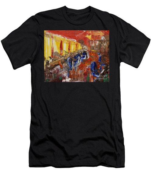 The Barber's Shop - 2 Men's T-Shirt (Athletic Fit)