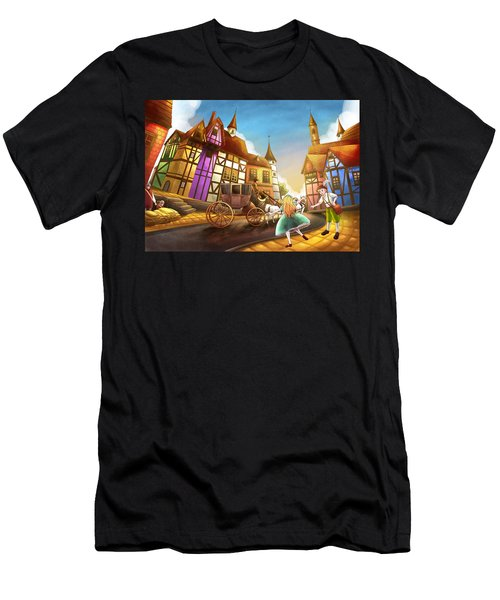 The Bavarian Village Men's T-Shirt (Athletic Fit)