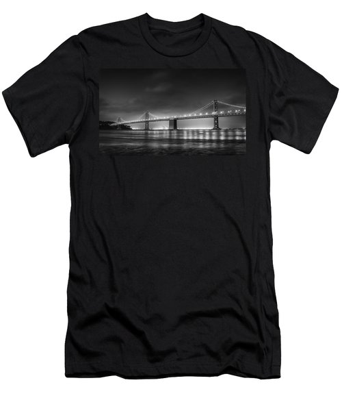 The Bay Bridge Monochrome Men's T-Shirt (Athletic Fit)