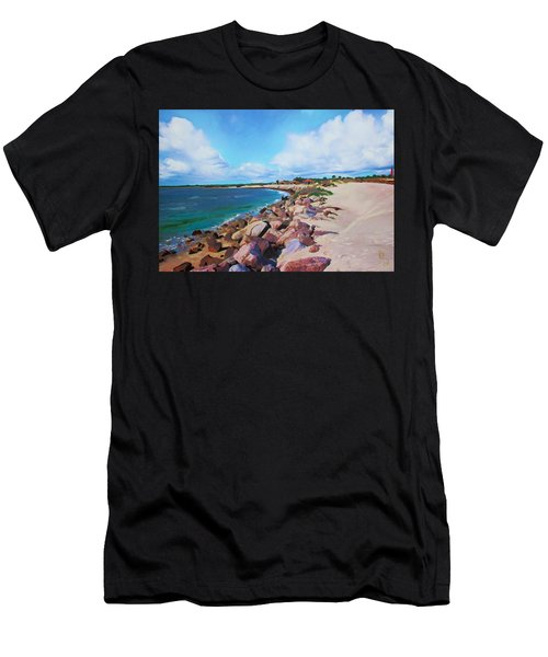 The Beach At Ponce Inlet Men's T-Shirt (Athletic Fit)