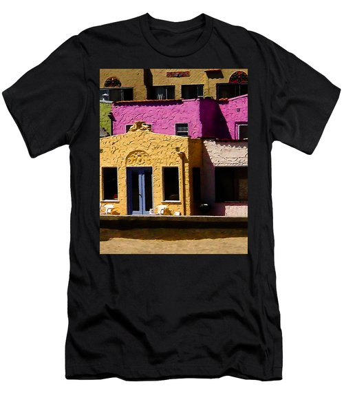 Men's T-Shirt (Slim Fit) featuring the photograph The Beach House by Jim Thompson