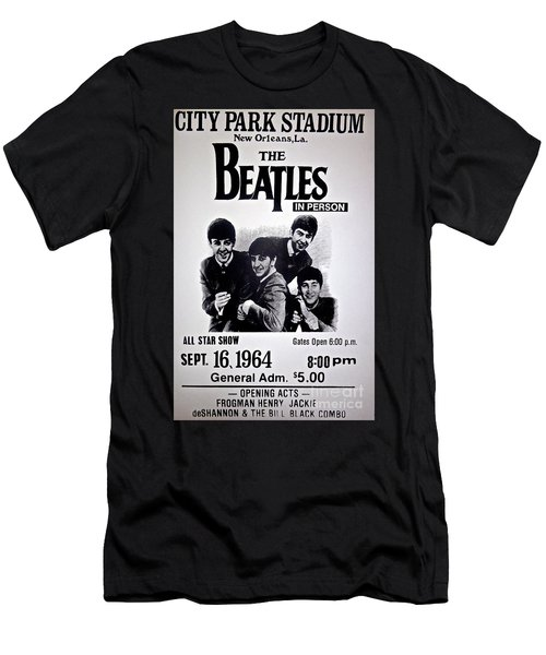 The Beatles Circa 1964 Men's T-Shirt (Athletic Fit)