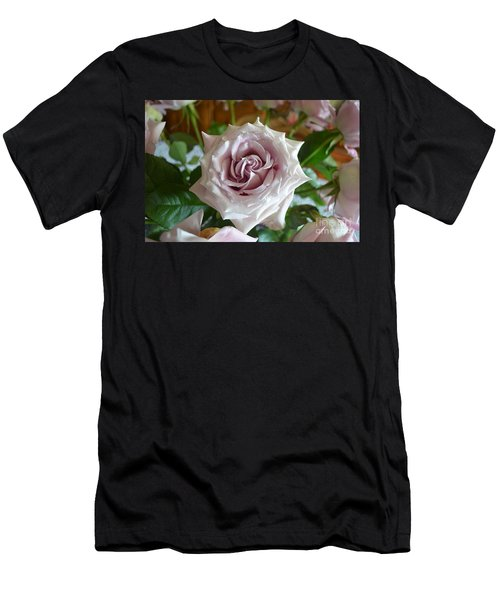 The Beauty Of A Flower Men's T-Shirt (Slim Fit) by Jim Fitzpatrick