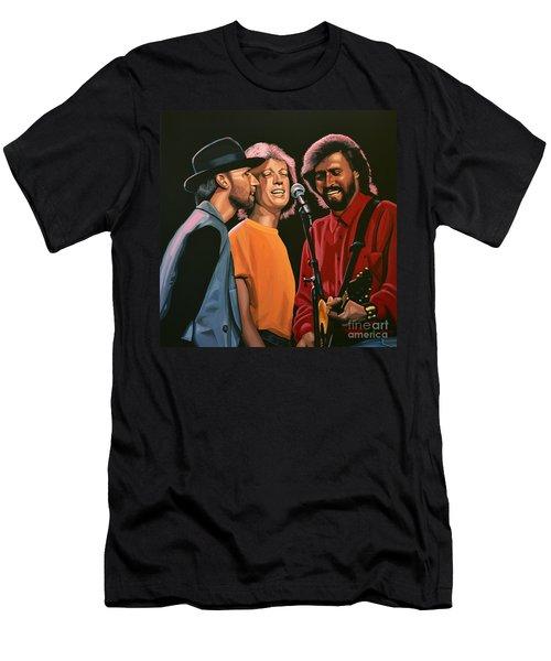The Bee Gees Men's T-Shirt (Slim Fit) by Paul Meijering