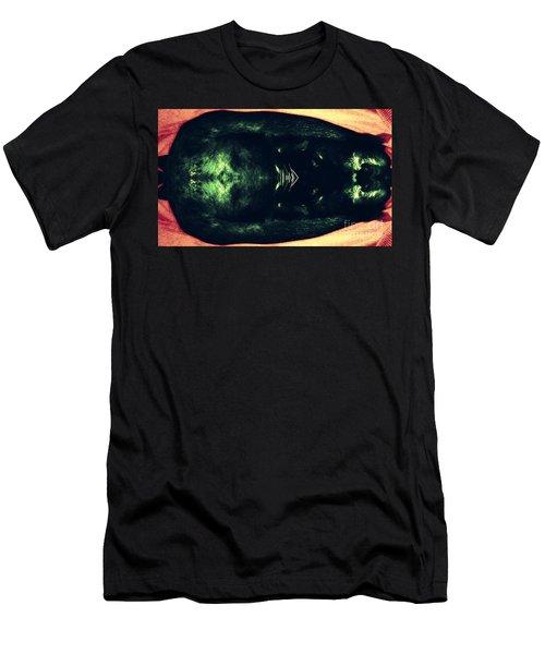 The Black Cat Men's T-Shirt (Slim Fit) by Paulo Guimaraes