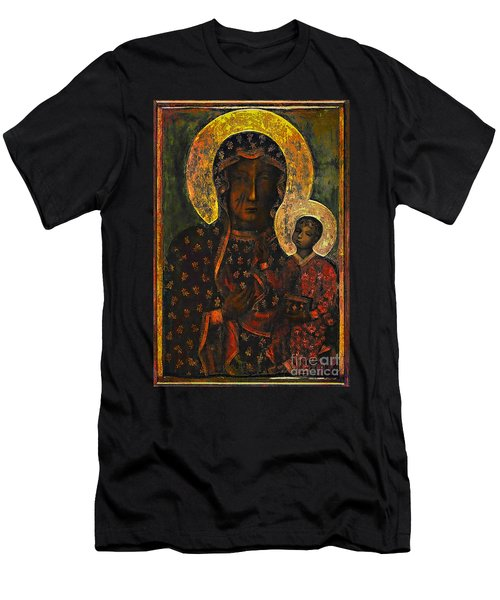 The Black Madonna Men's T-Shirt (Athletic Fit)