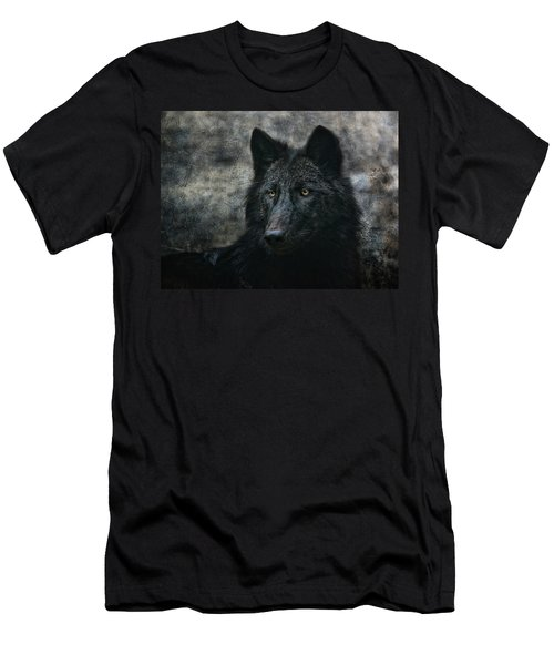 The Black Wolf Men's T-Shirt (Athletic Fit)