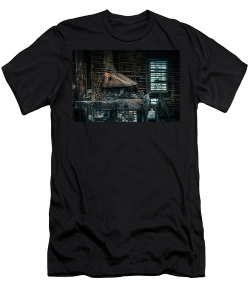 The Blacksmith's Forge - Industrial Men's T-Shirt (Athletic Fit)