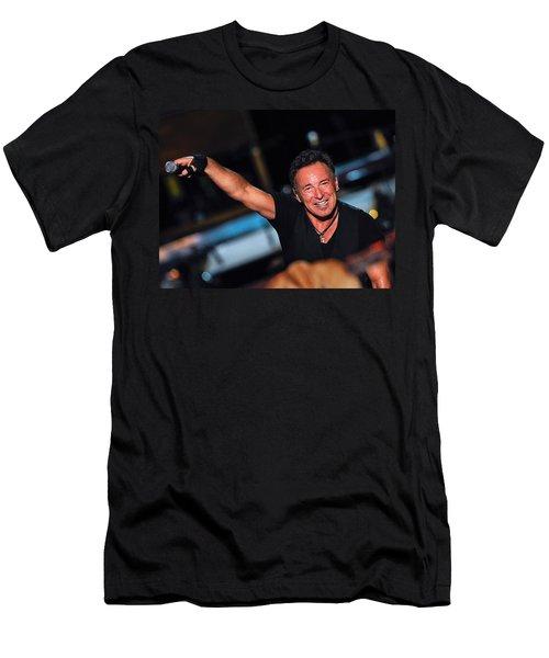 The Boss Men's T-Shirt (Slim Fit) by Rafa Rivas