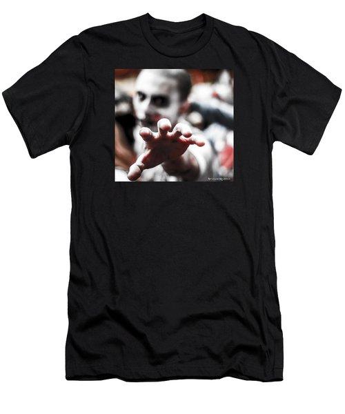 Men's T-Shirt (Athletic Fit) featuring the photograph The Brain Snatcher by Stwayne Keubrick