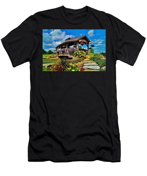 The Bridge 2 Men's T-Shirt (Slim Fit) by Daniel Thompson