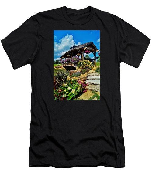 The Bridge  Men's T-Shirt (Slim Fit) by Daniel Thompson