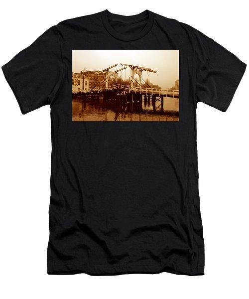 The Bridge Men's T-Shirt (Slim Fit) by Menachem Ganon