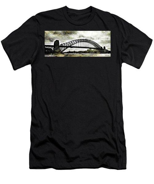 The Bridge Spattled Men's T-Shirt (Athletic Fit)