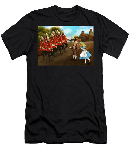 The British Soldiers Men's T-Shirt (Athletic Fit)