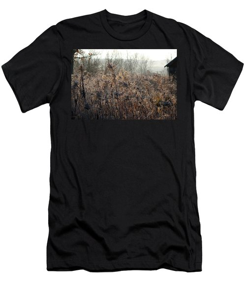 The Brown Side Of Winter Men's T-Shirt (Athletic Fit)