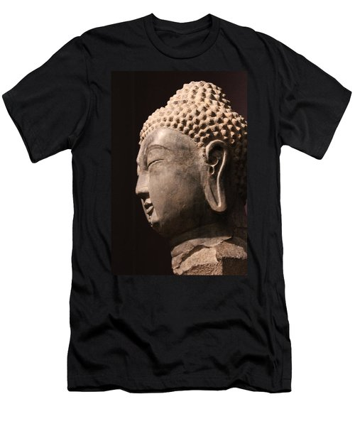 Men's T-Shirt (Slim Fit) featuring the photograph The Buddha 2 by Lynn Sprowl