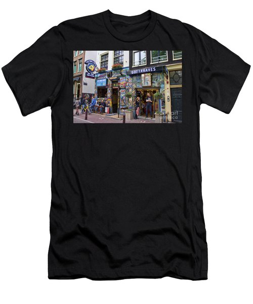 The Bulldog Coffee Shop - Amsterdam Men's T-Shirt (Athletic Fit)