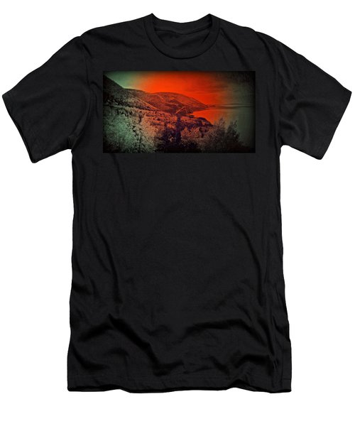 The Cabot Trail Men's T-Shirt (Slim Fit) by Jason Lees