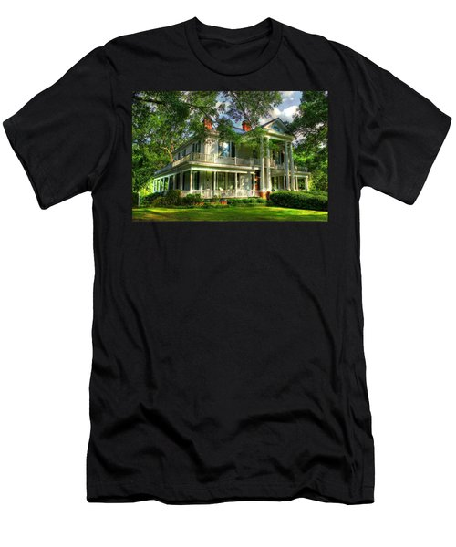 A Southern Bell The Carlton Home Art Southern Antebellum Art Men's T-Shirt (Athletic Fit)