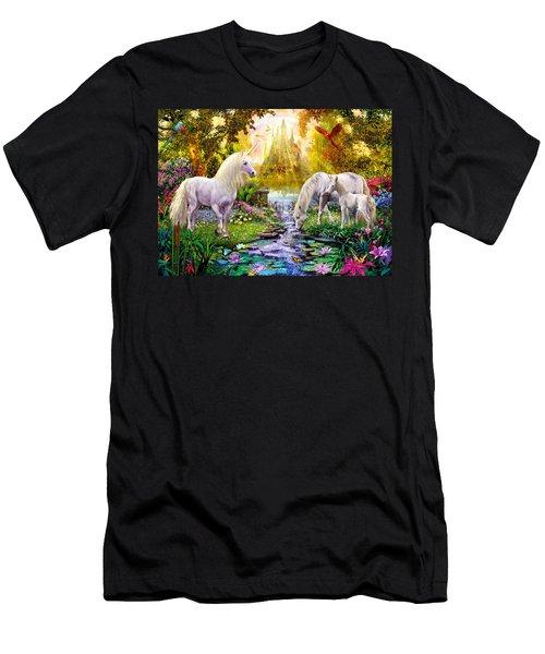 The Castle Garden Men's T-Shirt (Athletic Fit)