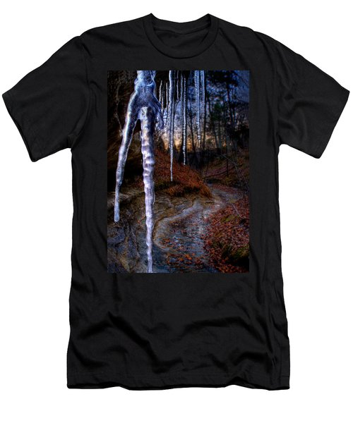 The Cave Of The Crystal Daggers Men's T-Shirt (Athletic Fit)