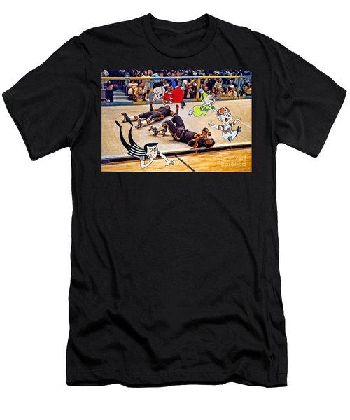 The Chipmunks Skating Roller Derby Men's T-Shirt (Athletic Fit)
