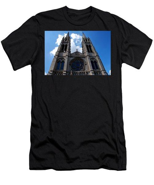 The Church Men's T-Shirt (Slim Fit) by Matt Harang