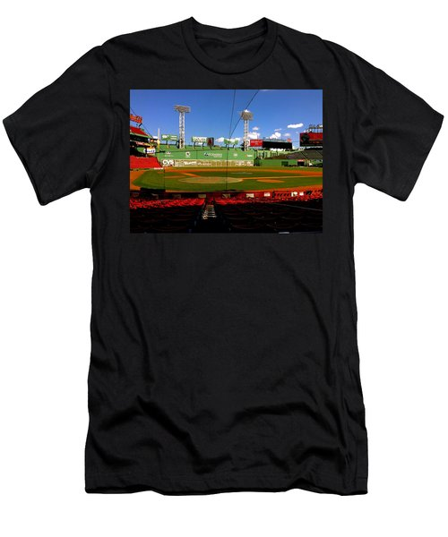 The Classic  Fenway Park Men's T-Shirt (Slim Fit) by Iconic Images Art Gallery David Pucciarelli