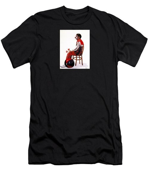 The Clown, Intermission Men's T-Shirt (Slim Fit) by Joyce Gebauer