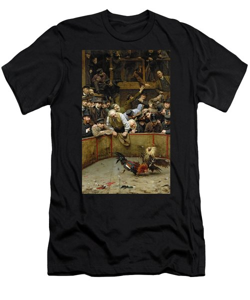 The Cockfight Men's T-Shirt (Athletic Fit)