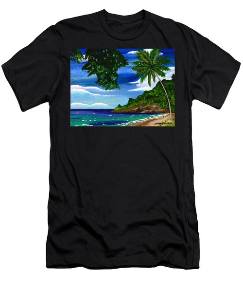 The Coconut Tree Men's T-Shirt (Athletic Fit)