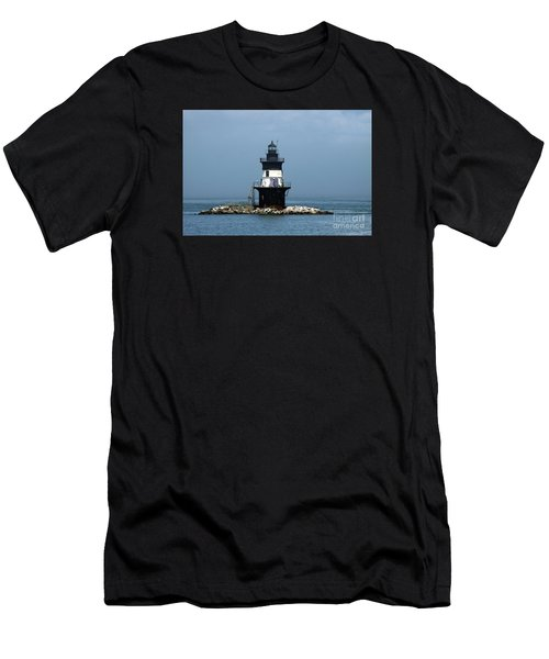 The Coffee Pot Lighthouse Men's T-Shirt (Athletic Fit)