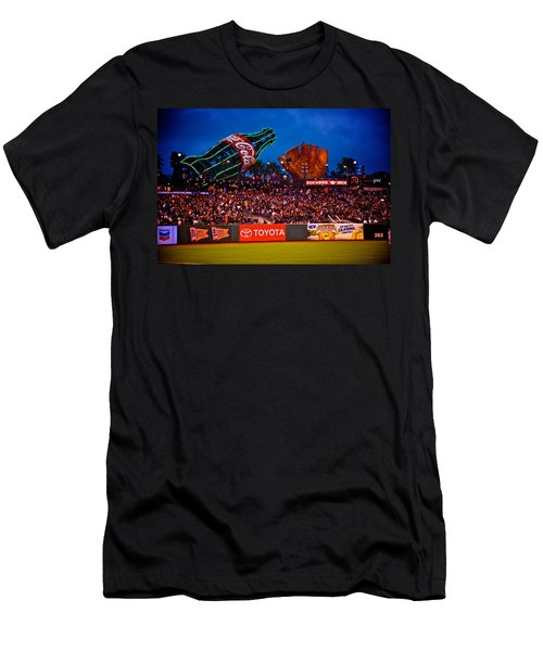 The Coke And Glove Men's T-Shirt (Slim Fit) by Eric Tressler