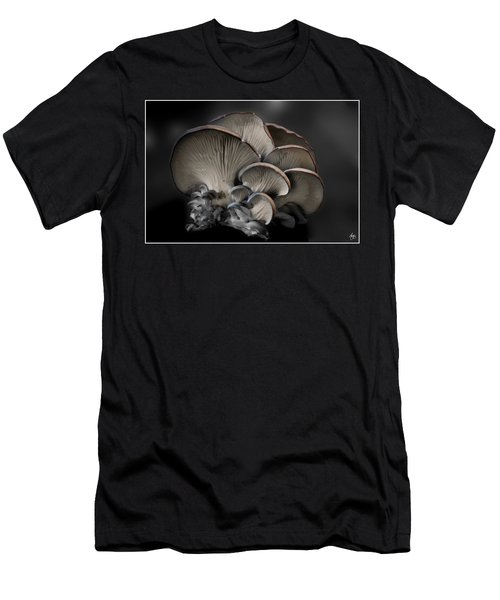 Men's T-Shirt (Athletic Fit) featuring the photograph Painted Fungus by Wayne King