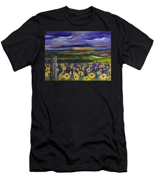The Colors Of The Plateau Men's T-Shirt (Athletic Fit)