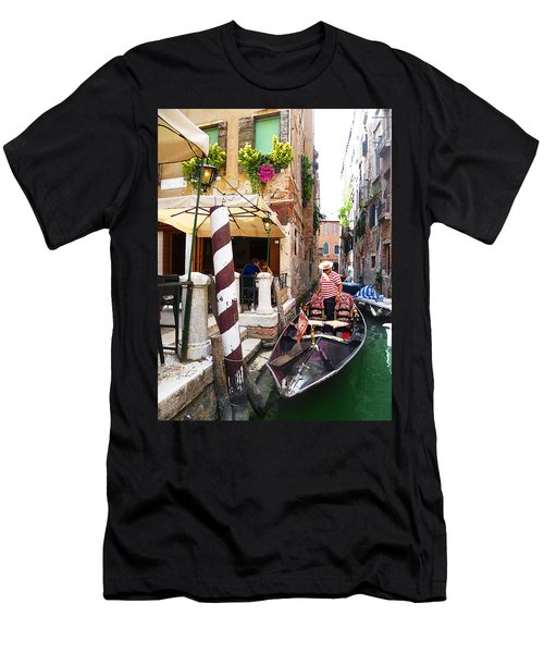 The Colors Of Venice Men's T-Shirt (Athletic Fit)