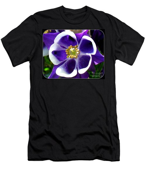 The Columbine Flower Men's T-Shirt (Slim Fit) by Patti Whitten