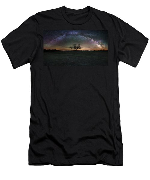 The Cosmic Key Men's T-Shirt (Athletic Fit)