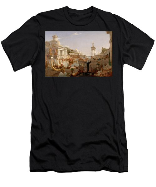 The Course Of Empire Consummation  Men's T-Shirt (Athletic Fit)