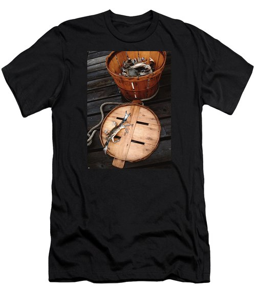 The Cranky Crab Men's T-Shirt (Slim Fit) by Skip Willits