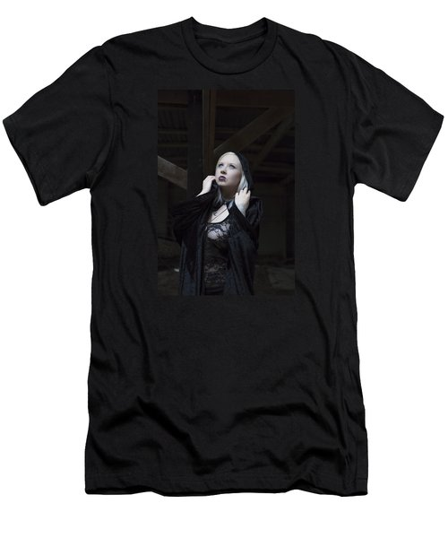 Men's T-Shirt (Slim Fit) featuring the photograph The Cup by Mez