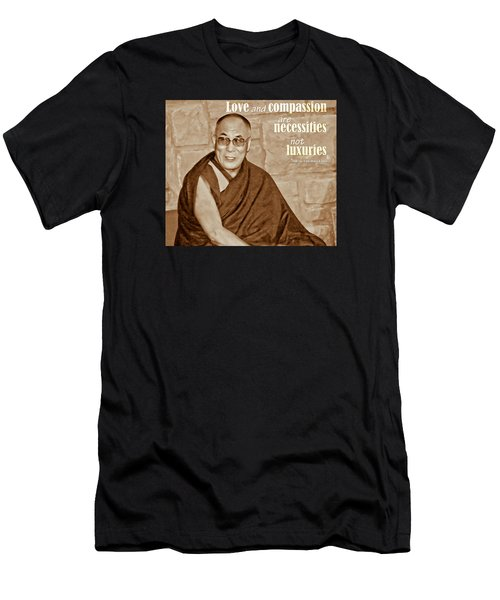 The Dalai Lama Men's T-Shirt (Athletic Fit)