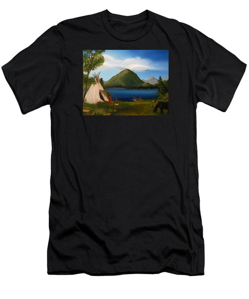 Dawn Of Tohidu Men's T-Shirt (Athletic Fit)