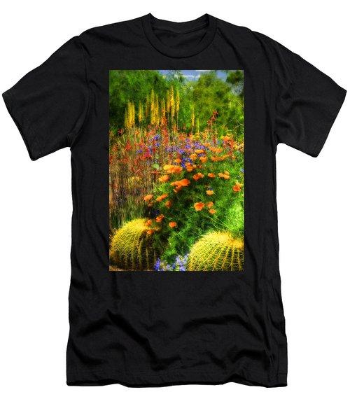 The Desert Abloom Men's T-Shirt (Athletic Fit)