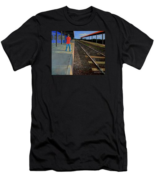 The Distance Of Solitude Men's T-Shirt (Athletic Fit)