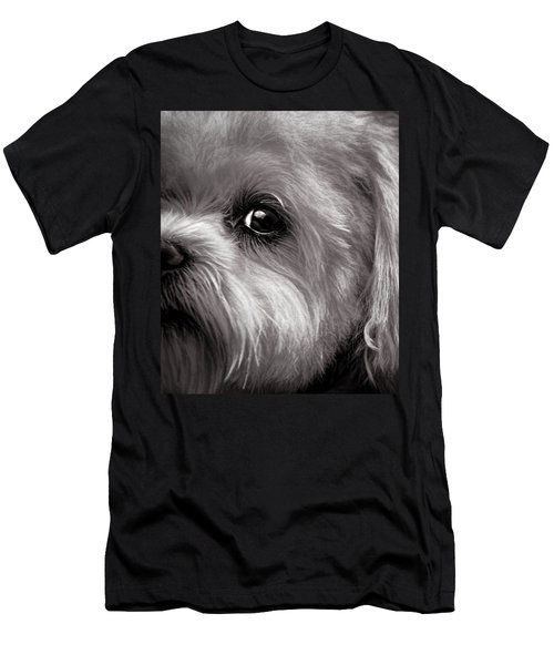 Men's T-Shirt (Athletic Fit) featuring the photograph The Dog Next Door by Bob Orsillo