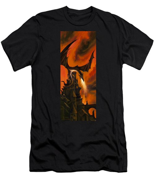 The Dragon's Tower Men's T-Shirt (Athletic Fit)